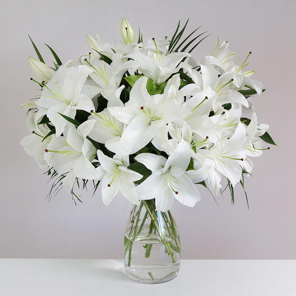 утяжки красивый букет белые лилии фото нас призы, вас