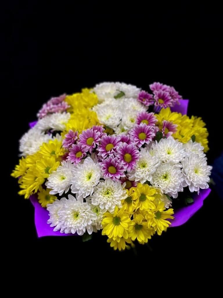 Хризантема микс (70 см)