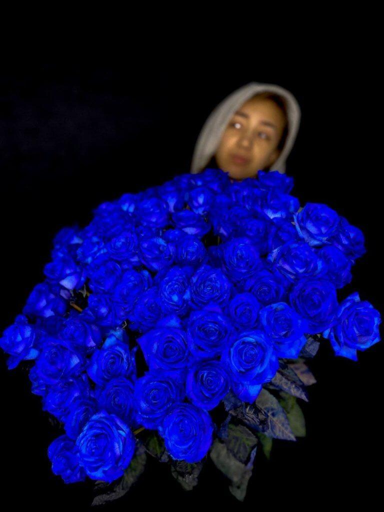 Синие розы